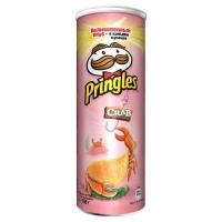 Чипсы Pringles crab 165р.