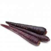 Морковь мытая фиолетовая 1кг.