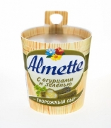 Сыр Almette с огурцами и зеленью 150гр.