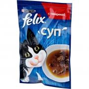 Felix суп с говядиной 48гр.