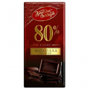 Шоколад Красный октябрь Горький 90гр.