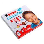 Kinder шоколад 4 порции