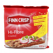 Хлебцы finn crisp hi-fibre (с отрубями) 200гр.