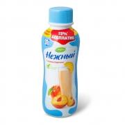 Йогурт нежный с соком персика 285гр.