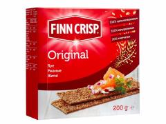 Хлебцы ржаные finn crisp 200гр.