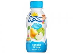 Йогурт Агуша Груша-Яблоко 200мл.
