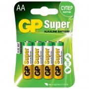 Батарейки пальчиковые AA GP 4шт.