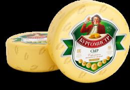Бургомистр Кобрин сыр 50% с ароматом топл. молока 50% 8кг.