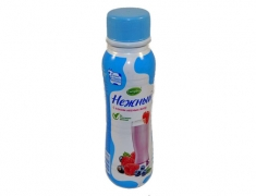 Йогурт нежный с соком лесных ягод 285гр.