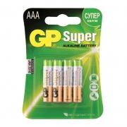 Батарейки мизинчиковые AAA GP 4шт.
