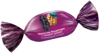 Чернослив с грецким орехом в шоколаде 1кг.