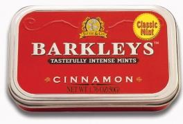 Леденцы Barkleys корица 50гр.