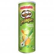 Чипсы Pringles spring onion 165р.