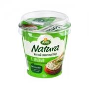 Arla Natura плавленный сыр с зеленью 150гр.