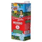 Молоко Домик в деревне 6% 1л.