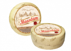 """Маасдам ТМ """"Дар Иваныча"""" 45% 7,5 кг."""