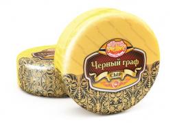 Черный Граф  сыр 50% с ароматом грецкого ореха 8,5кг.