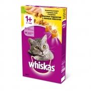 Сухой корм whiskas  вкусные подушечки 350гр.