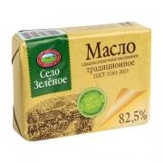 """Масло сливочное """"Традиционное"""" 82,5% Село зеленое 175гр."""