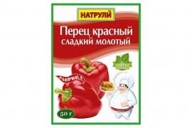 Перец красный сладкий молотый 50гр.