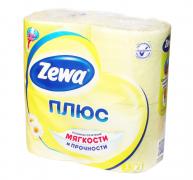 Туалетная бумага Zewa Ромашка 4шт.
