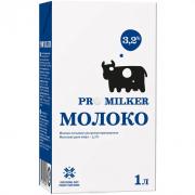 Молоко Promilker (Промилкер) ультрапастик 3.2% 1л.