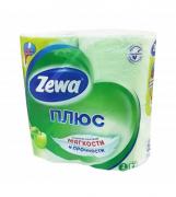 Туалетная бумага Zewa Яблоко 4шт.