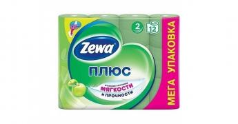 Туалетная бумага Zewa Яблоко 12шт.