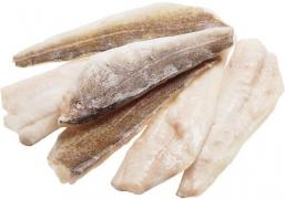 Филе трески на коже замороженная 1кг.